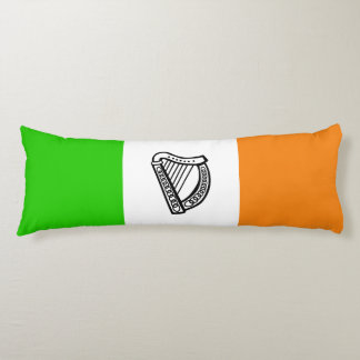Irish flag body pillow