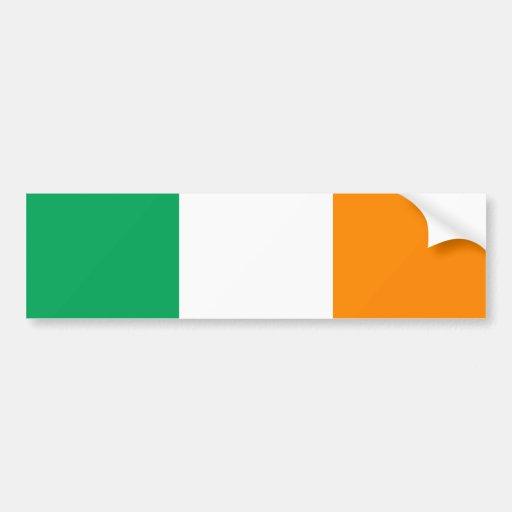 irish flag bumper stickers