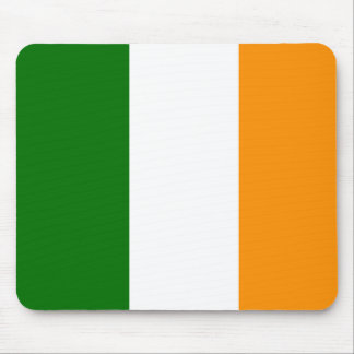 Irish Flag Colored Mousepad