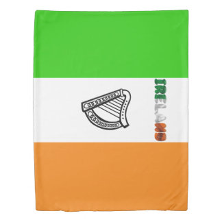 Irish flag duvet cover