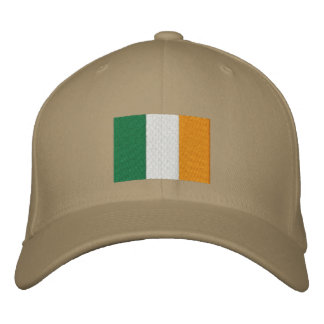 Irish Flag Embroidered Hat
