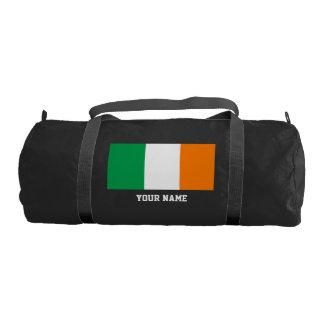Irish flag gym bag