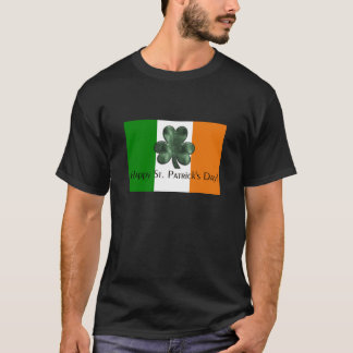 Irish Flag - Happy St. Patrick's Day Tee