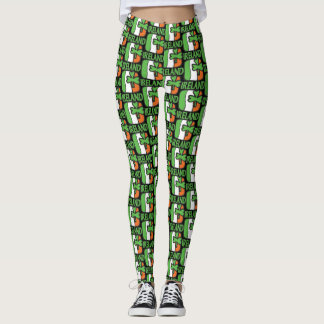 Irish Flag Ireland Shamrock Leggings