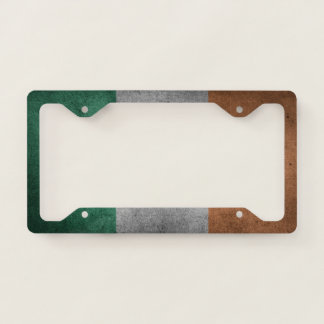 Irish Flag License Plate Frame