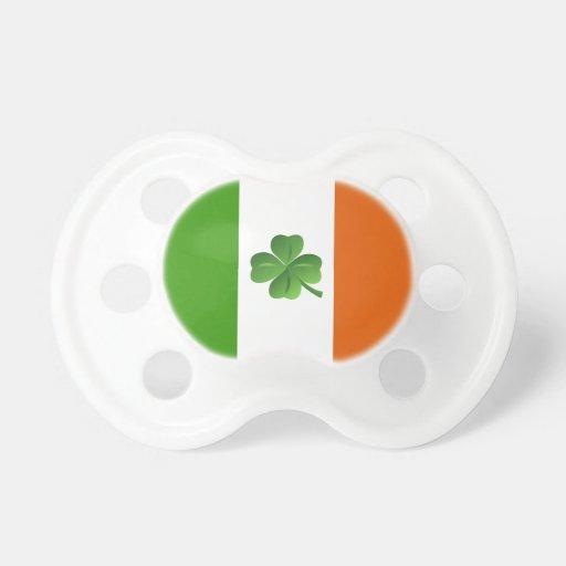 Irish flag pacifier