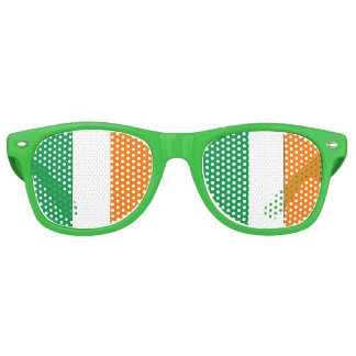 Irish Flag - Party Shades! Retro Sunglasses