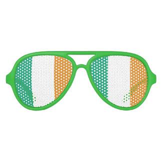 Irish Flag Party Sunglasses