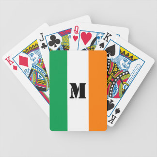 Irish flag Playing Cards