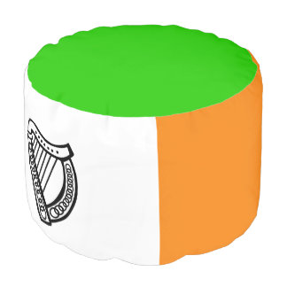 Irish flag pouf