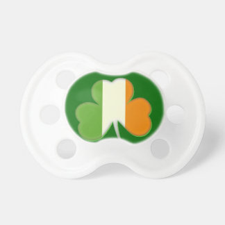 Irish Flag Shamrock Baby Pacifier
