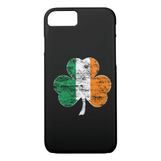 Irish Flag Shamrock (distressed) iPhone 7 case