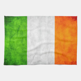 Irish Flag teatowel bywhacky Kitchen Towel