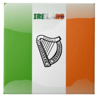 Irish flag tile