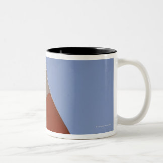 Irish flag Two-Tone coffee mug