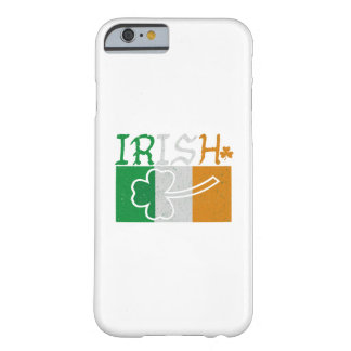 Irish Flag Vintage St Patricks Day Barely There iPhone 6 Case
