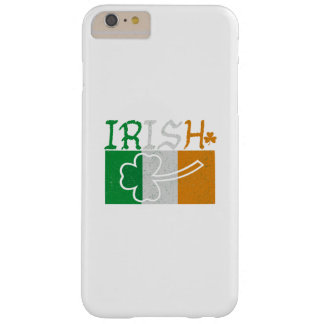 Irish Flag Vintage St Patricks Day Barely There iPhone 6 Plus Case
