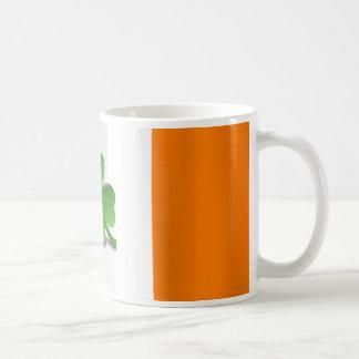 Irish Flag with Clover Mug