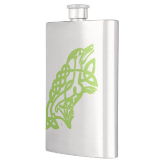 Irish Flask Celtic Knot