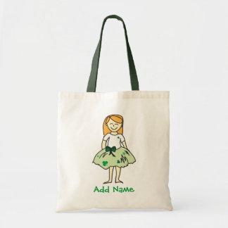 Irish Flower Girl Tote Bag