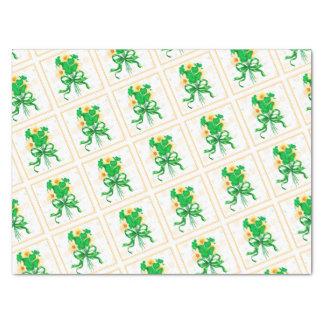 "IRISH FLOWERS 15"" x 20""- 18lb Tissue Paper"