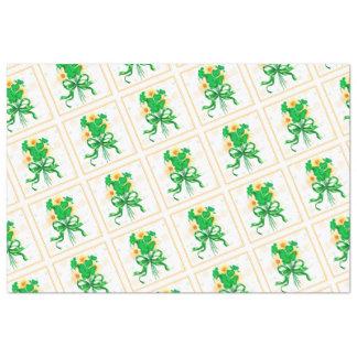 "IRISH FLOWERS 20"" x 30"" - 18lb Tissue Paper"