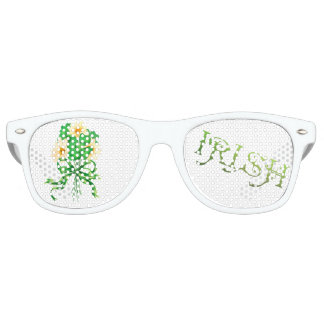 IRISH FLOWERS Party Adult Retro Party Shades