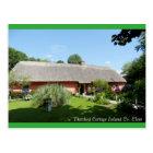 Irish Folk Cottage for postcard
