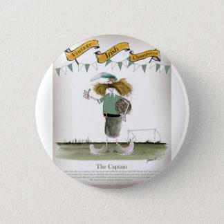 irish football captain 2 inch round button