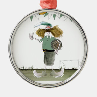 irish football captain metal ornament