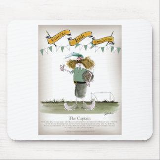 irish football captain mouse pad