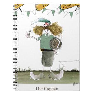 irish football captain notebook