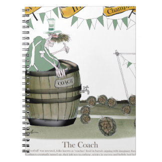 irish football coach notebook