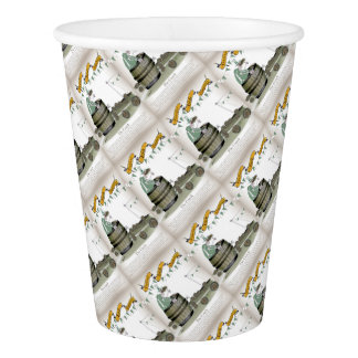 irish football coach paper cup
