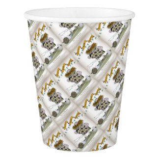 irish football goalkeeper paper cup