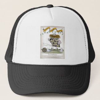 irish football goalkeeper trucker hat