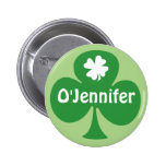 Irish For A Day St. Patrick's Day Party Name Tags 2 Inch Round Button