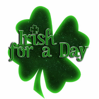 Irish for a Day Standing Photo Sculpture