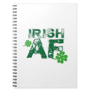 Irish Funny St Patrick's Day Men Women Notebook