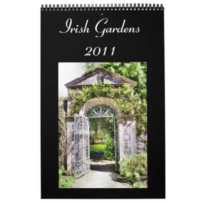 Irish Gardens 2011 Calendar
