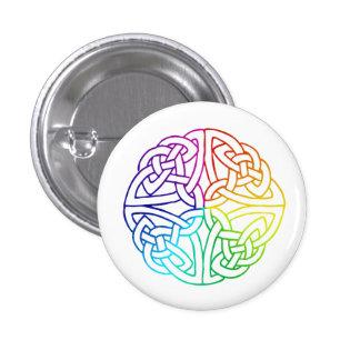 Irish Gay & Lesbian Pride Celtic 1 Inch Round Button