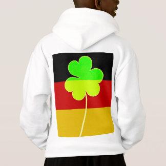 Irish German Flag Shamrock Clover St. Patrick Fun