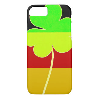 Irish German Flag Shamrock Clover St. Patrick Fun iPhone 8/7 Case