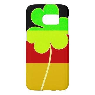 Irish German Flag Shamrock Clover St. Patrick Fun Samsung Galaxy S7 Case