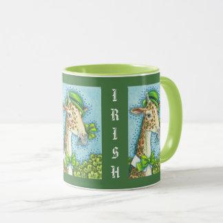 IRISH GIRAFFE ST. PATRICK'S DAY MUG Combo