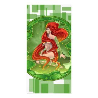 Irish Girl Card