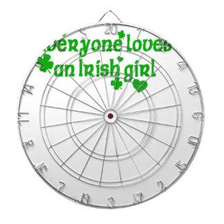 IRISH girl g Dartboard