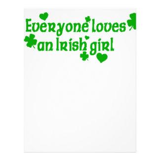 IRISH girl g Letterhead