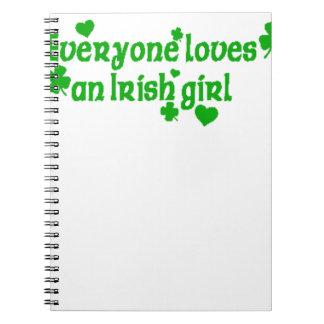 IRISH girl g Notebook