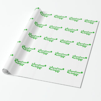IRISH girl g Wrapping Paper